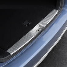 Car Foot Pedal Trunk Rear Panels Exterior Durable Auto Decorative Bright Sequins Accessories 15 16 17 18 19 FOR Subaru Outback