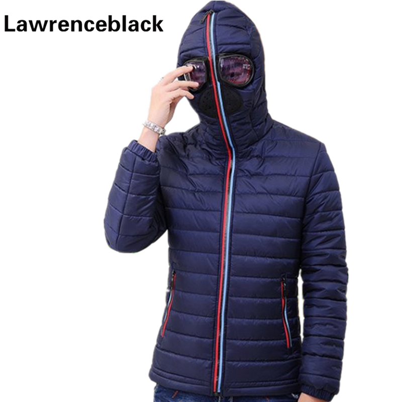 Halloween Wear Winter Jackets And Coats With Glasses New Design Windbreaker Hooded Dust-proof   Parka   Thick Warm Outwear Men 61