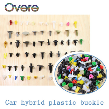 Overe 200pcs/set Mixed Car Fastener Auto Door Bumper Fender Rivet Clips For BMW E60 E36 E46 E90 E39 E30 F30 F10 F20 X5 E53 E70 image