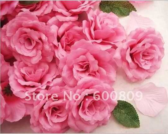 Hot pink silk flowers image collections flower decoration ideas hot pink silk flowers choice image flower decoration ideas hot pink fake roses wedding tips and mightylinksfo