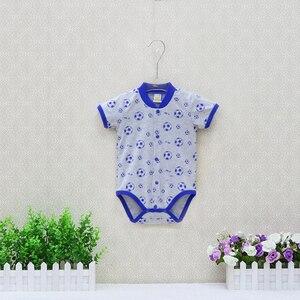 Image 3 - 2020 Nhỏ Mới Q Nữ Tay Ngắn Một Mảnh Bodysuits 10 Cái/lốc Sơ Sinh Nguyên Chất 100% Cotton Quần Áo Bé Gái Mùa Hè Trẻ Em In Hình quần Áo