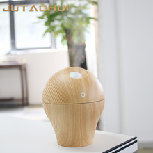 mini 44 usb 250ml Air Humidifier Wood Grain Aroma Diffuser Essential Oil aromatherapy Mist Maker changing LED Light for Home цена в Москве и Питере