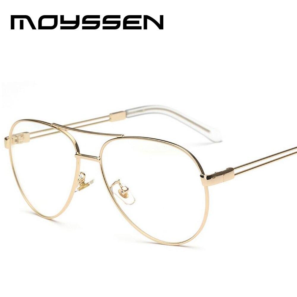 Moyssen Hohe Qualität männer Vintage 3025 Pilot Brillen Frauen Retro ...