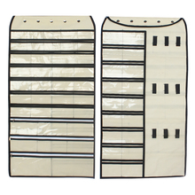 лучшая цена 1 pcs Free shipping Grey 80 Pockets Hanging Jewelry Organizer, sold by china manufacturer at low price