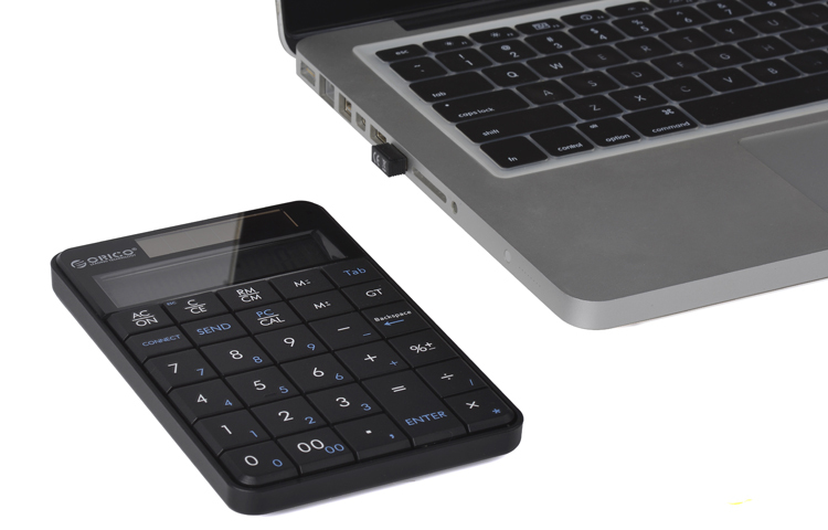 1be2ca5baf2 ORICO Wireless Bluetooth numeric keypad Multifunction Wireless USB  Calculator 29 Noiseless Keys-in Keyboards from Computer & Office on  Aliexpress.com ...