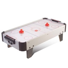 Table Top Air Hockey White Color Electric Powered 32inch Indoor  Recreational Air Hocky Table Kids Air Hockey Table