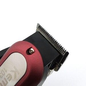 Image 5 - Kemei Professional Hair Trimmer Starke Elektrische Haar Clipper Rasierer Haar Rasieren Maschine Haar Schneiden Bart Elektrische Rasiermesser