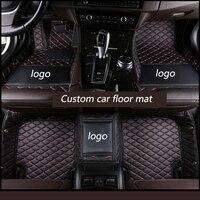 kalaisike Custom car floor mats for Jeep All Models Grand Cherokee compass Commander Cherokee Wrangler patriot renegade