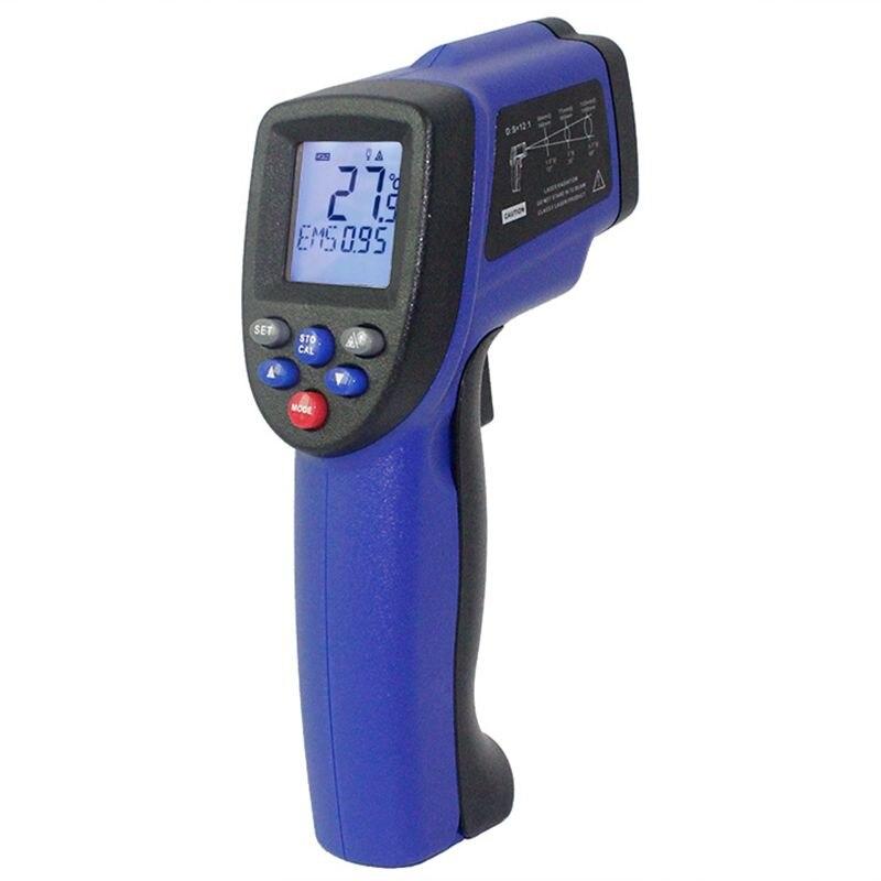 -58 ~ 1652F IR A Raggi Infrarossi Termometro Laser Gun-50-900 Gradi 12:1 Senza Contatto Digitale LCD palmare Pirometro Temperatura Tester