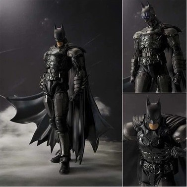 6.5 SHF Figuarts Batman INJUSTICE Ver. 16cm PVC Action Figures Toy Model Gift shf figuarts superman in justice ver pvc action figure collectible model toy