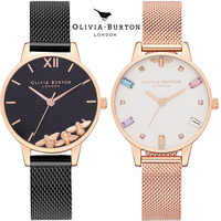 Olivia burton femmes montres étoilé vert cadran Reloj Mujer dames Montre-bracelet Ultra-mince en acier inoxydable bracelet Quartz Montre Femme