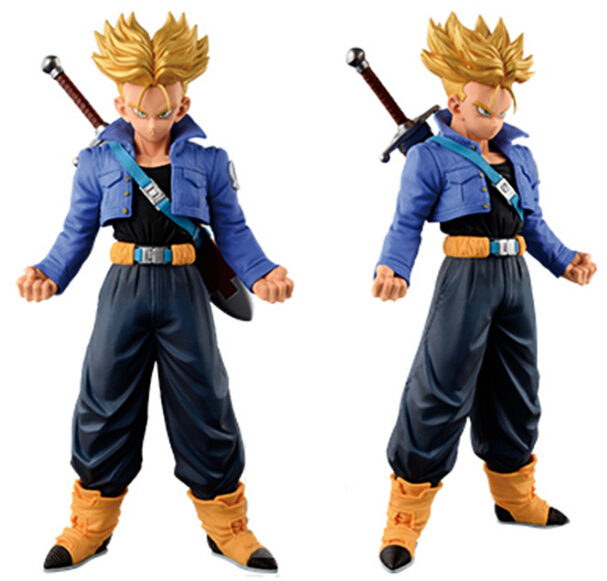 NEW hot 19cm Dragonball Dragon ball z Trunks Super saiyan action figure collection toys Christmas gift nd pre sale new genuine funko pop dragonball z super saiyan goku3 75 inch vinyl dolls dragon ball vinyl figure free shipping