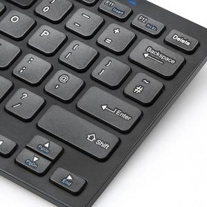 TeckNet 2,4 Ghz мини беспроводная клавиатура для Windows Android Smart TV UK Клавиатура раскладка Тихая клавиатура с USB нано-приемником