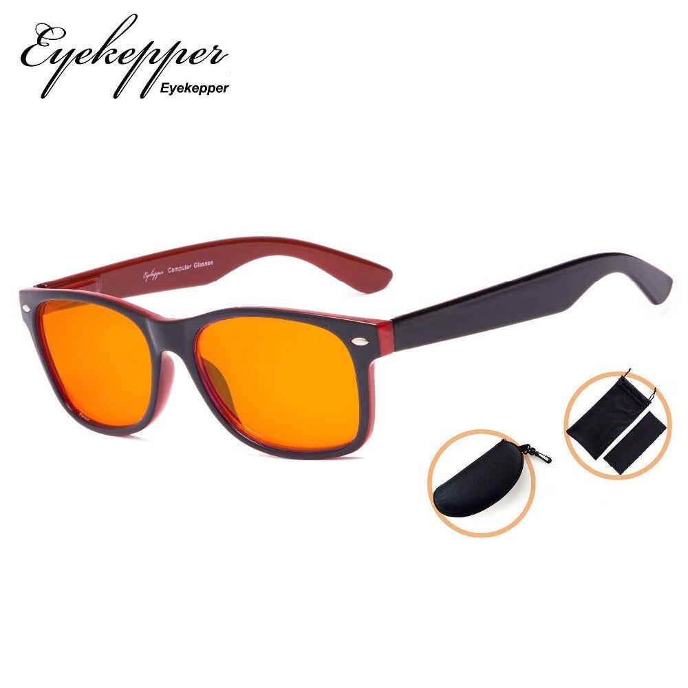 7e3dc8b0580 Dss eyekepper blue blocking amber glasses for sleep nighttime eyewear  special orange tinted glasses for women