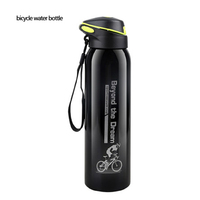 Bicycle Water Bottle Mountain Cycling 500ml Outdoor Sport Portable Bike Water Bottle Kettle Bicycle Stainless Steel Water Bottle