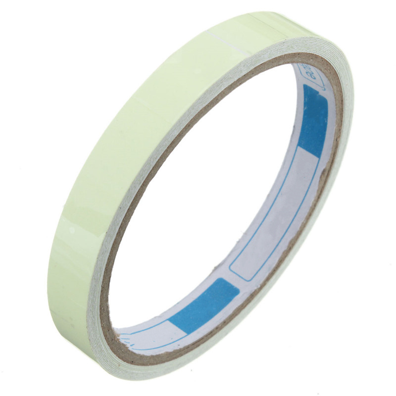 High Quality Luminous Tape Self-adhesive Glow In The Dark Night Vision Warning Tape Green Indoor Outdoor Safely Security