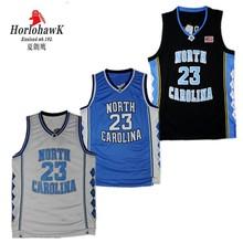 ee46e2931 Michael Jordan 23 Faculdade dos homens reminiscência Jerseys North Carolina  Tar Heels Basketball Jerseys Costurado Tamanho