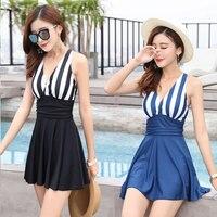Dress One Piece Swimsuit Women Swimwear Print Bodysuit Spa Cut Out Beach Wear Bathing Suit Swimsuit HW353