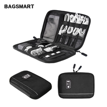 купить Electronic Accessories Organizers Bag For Hard Drive Organizers For Earphone Cables USB Flash Drives Travel Case Digital Bag по цене 1187.27 рублей