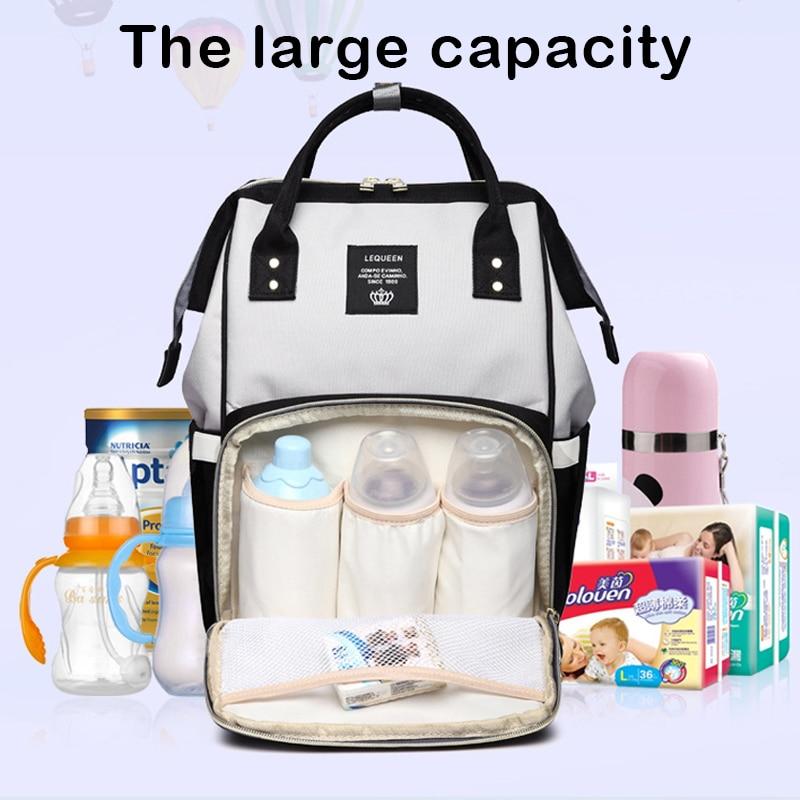 Waterproof diaper bag Large Capacity Travel unicorn backpack Nursing Bag for Baby Care mommy Bag handbags for moms dropship