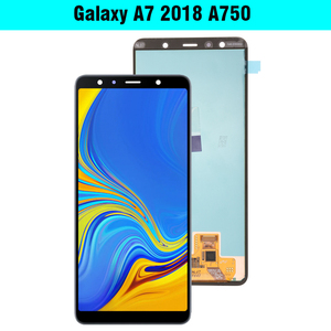 Image 2 - 6.0 Super AMOLED LCD For Samsung Galaxy A7 2018 A750 SM A750F A750F Display With Touch Screen Assembly Replacement Part