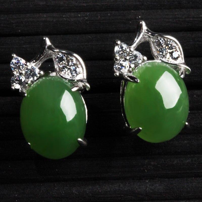 Natural and nephrite jade pendant earrings jewelry earrings egg natural and nephrite jade pendant earrings jewelry earrings egg surface inlaid jade teardrop shaped earrings female style in earrings from jewelry aloadofball Choice Image