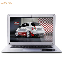 Amoudo-6C 8GB RAM+64GB SSD 14inch 1920*1080 FHD Windows 7/10 System Intel Quad Core WIFI+LAN Ultrathin Laptop Notebook Computer