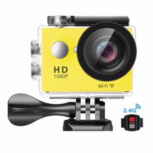 2017 High Quality Ultra 4K Action Camera FHD 1080P Action Camera Max 12MP 140D Lens wifi Sport Action Camera SD Card Up to 32GB