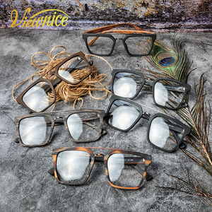 Image 4 - Instagram ผู้หญิง Hot VINTAGE กรอบแว่นตาผู้ชายใหม่สแควร์ Acetate แว่นตาขนาดใหญ่แว่นตาสายตาสั้น Blue Light แว่นตาล้างเลนส์