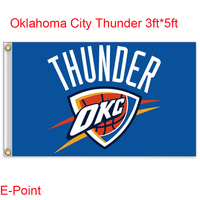 Oklahoma City Thunder Flag 3ft 5ft