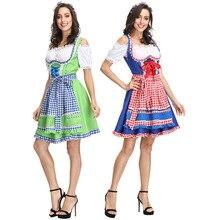 Beer Woman Bavarian Girl Costume Sexy Oktoberfest Festival Carnival Party Fancy Dress Halloween For Women