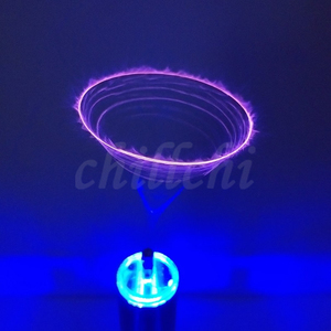 Image 3 - Music Tesla coil ion windmill ion wreath input anti interference protection DIY experiment