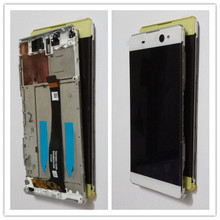 JIEYER LCD For SONY Xperia XA Ultra Display Touch Screen with Frame For SONY XA Ultra LCD Display F3211 F3212 F3215 F3216 смартфон sony xperia xa ultra золотой лайм f3211ru n