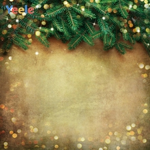 Yeele Wood Green Leaves Fallen Bokeh Lights Pine Photography Backdrops Personalized Photographic Backgrounds For Photo Studio
