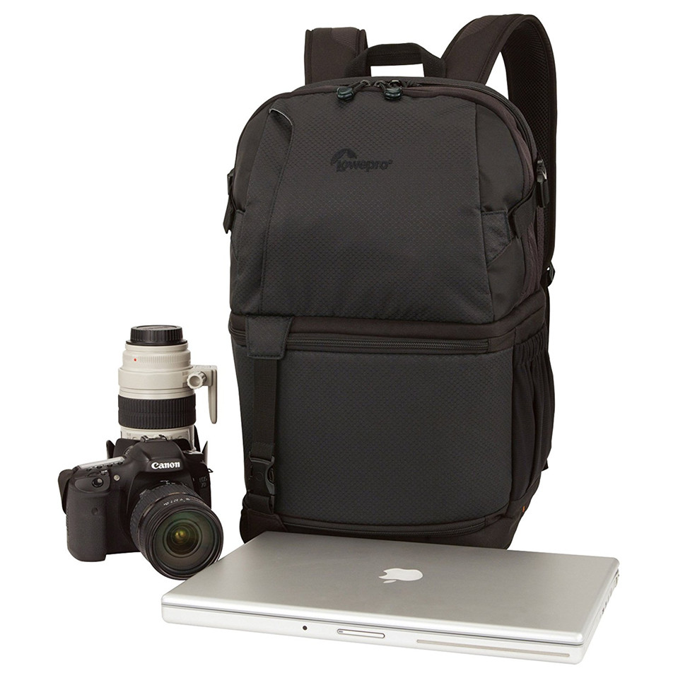 ФОТО DSLR Video Pack 350 AW Camera Tripod Backpack Shoulders DVP 350AW Fastpack 17