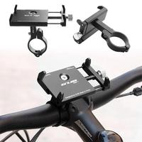 Aluminum Alloy Bike Cell Phone Holder Universal Motorcycle Handlebar Phone Support For 2 17 3 94inch
