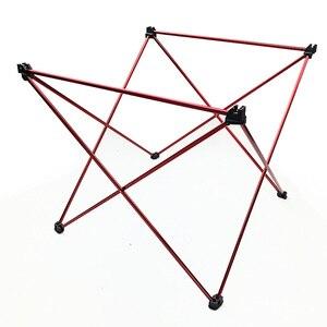Image 3 - 328 프로 모션 휴대용 접이식 접이식 테이블 데스크 캠핑 야외 피크닉 6061 알루미늄 합금 초경량