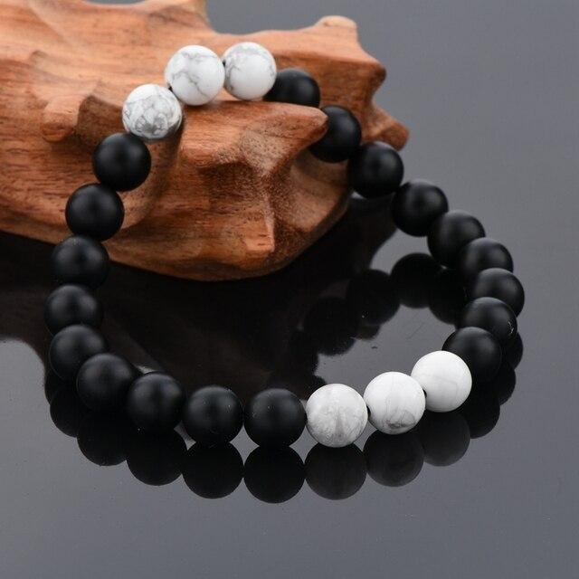 Фото chicvie белый и черный браслет браслеты для мужчин женщин влюбленных