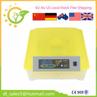 Fully Automatic 48 Egg Incubator Brooder Cheap Machine For Hatching Eggs EU Free Shipping