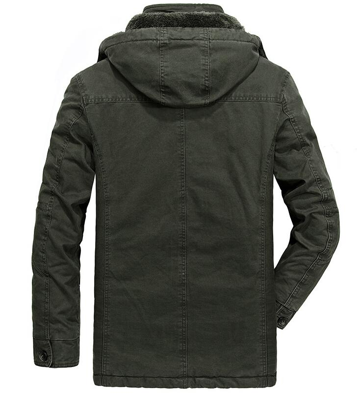 6XL 7XL 8XL Plus Size Male Thermal Clothing Parka Men Cotton Hooded Winter Mens Jackets and Coats Military Warm Premium Brand