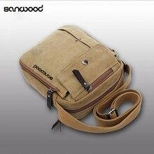 2016 New Fashion Men's Vintage Canvas Multifunction Travel Satchel Casual Messenger Shoulder Bag