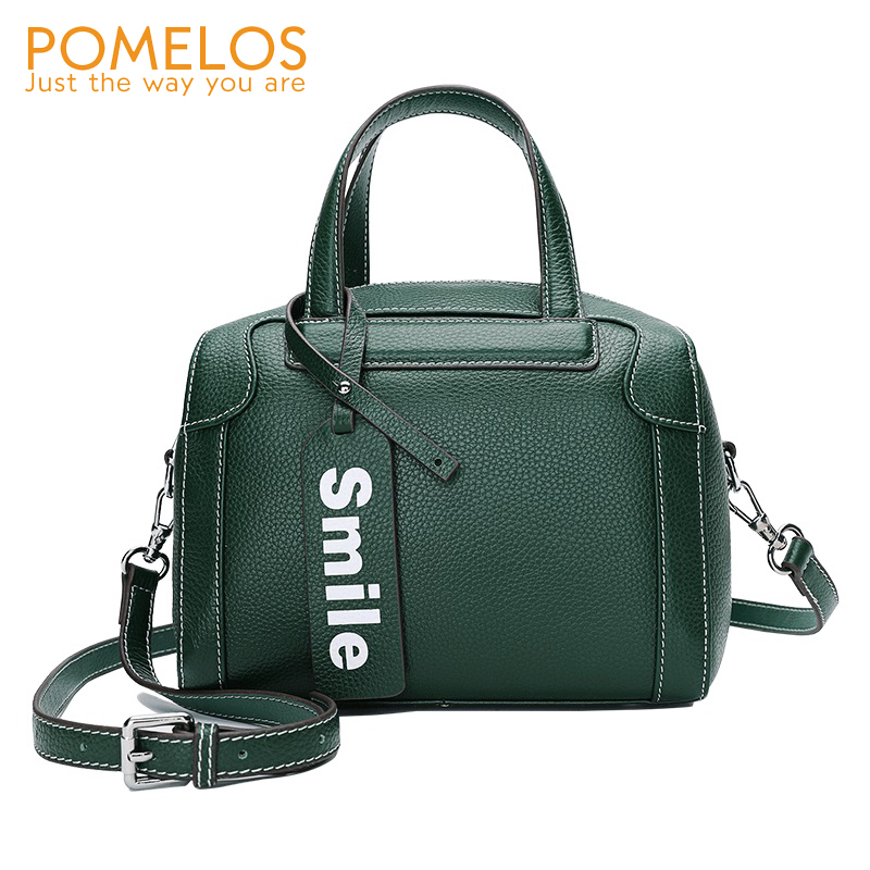 POMELOS Fashion Women Bag Genuine Leather Bags For Women 2019 New Arrival Small Luxury Bag High