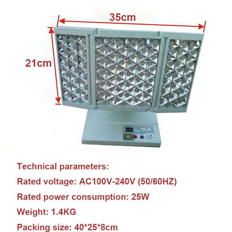 7 Colors PDT LED Photo Light Therapy Machine LED Facial Beauty Light Machine Phototherapy For Skin Rejuvenation Acne Remover