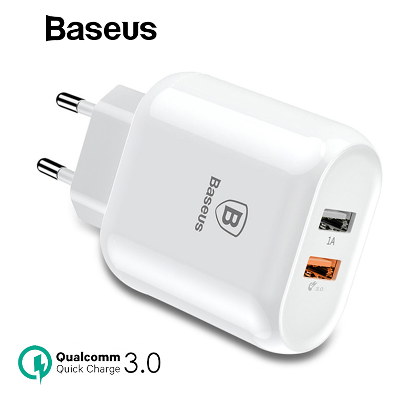 Baseus Dual USB Charger Quick Charge 3.0