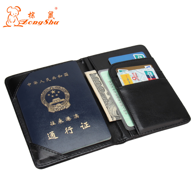 New Passport Covers for Men Women Cute Credit Card Holder PU Leather Passport Holder Travel Wallet