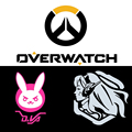 2016 New Style Overwatch Figure Game Stickers Car Styling D.VA Bunny Car Stickers Motorcycle Vinyl Decal Exterior Accessories