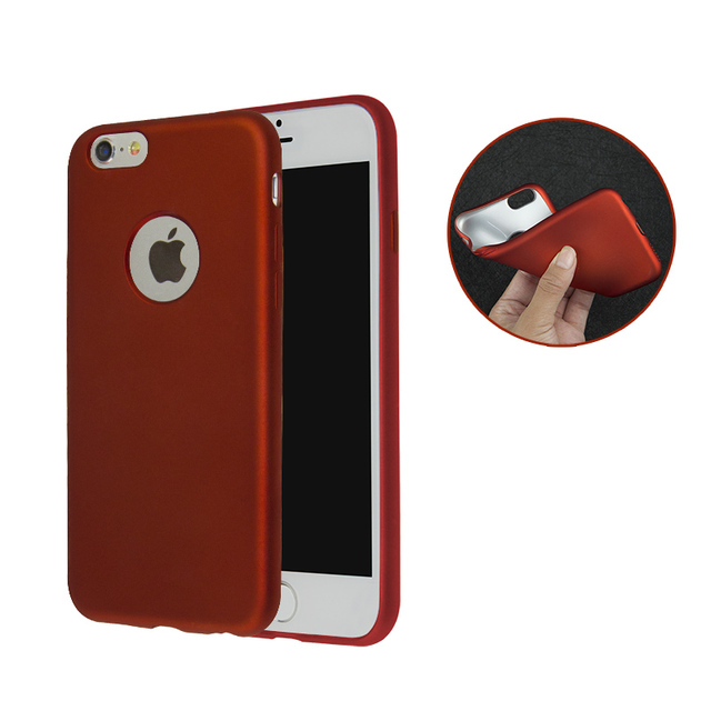 premium selection dfe29 adf2d US $1.99 |Jderv Case For iPhone 6 5 6S 7 Cover Soft Matte Silicone Phone  Bag Case For iPhone 6 S 5 5S SE Coque Ultra Thin Candy 360 Capa -in Fitted  ...