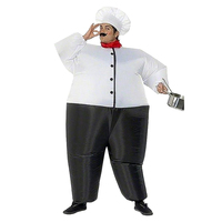 Inflatable Costume Christmas Carnival Snowman Cosplay Dress Halloween Costumes for Adult