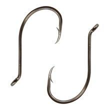 180pcs 8299 Excessive Carbon Metal Fishing Hooks Black Offset Octopus Beak Bait Fishhook Measurement 1 2 6 Eight 2/Zero 3/Zero 4/Zero 5/Zero 6/Zero 7/Zero 8/Zero 9/0
