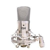 Hot Sprzedaż Oryginalny nowy ISK BM-800 profesjonalne nagrywanie mikrofon mikrofon pojemnościowy dla studio i nadawania bez walizka